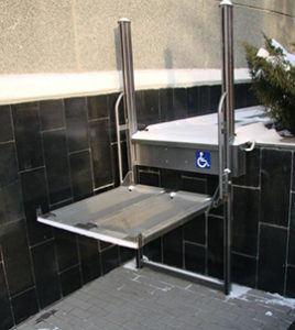Подъемная платформа для инвалидов